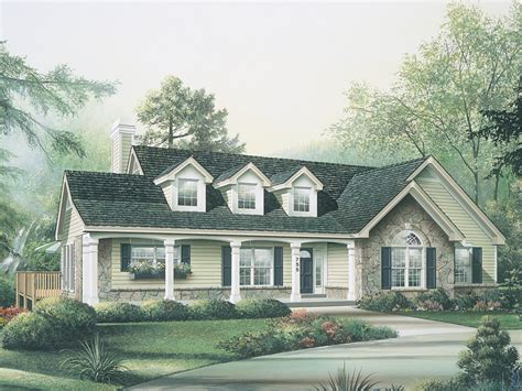 maple hill country ranch home plan 007d 0085 house plans