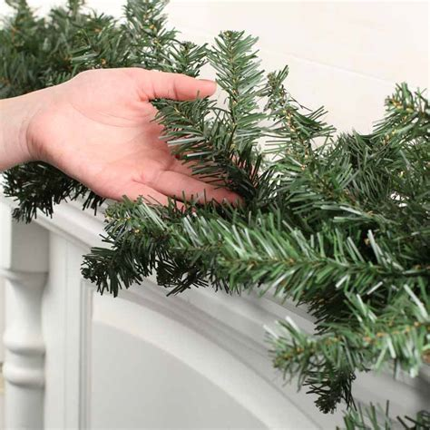 canadian pine garland artificial canadian pine garland artificial greenery