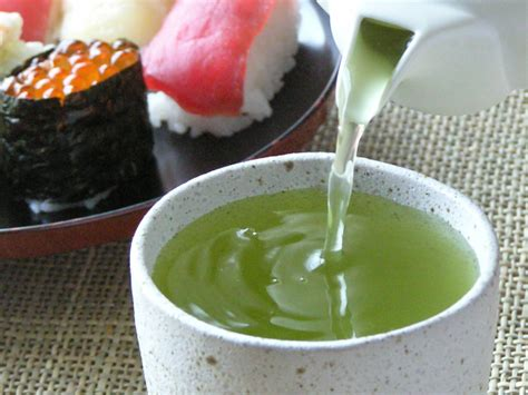 best japanese green tea what s the type of green tea served at japanese sushi bars