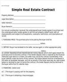 House Sales Contract Template by Sle Home Sales Contracts 6 Exles In Word Pdf