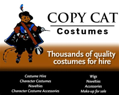 copy cat costumes rockingham costume hire perth wa wa