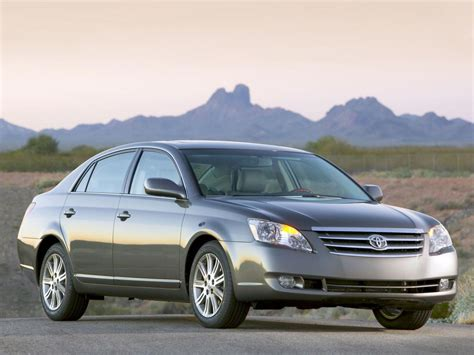 Toyota Avalon Dimensions Toyota Avalon Technical Specifications And Fuel Economy