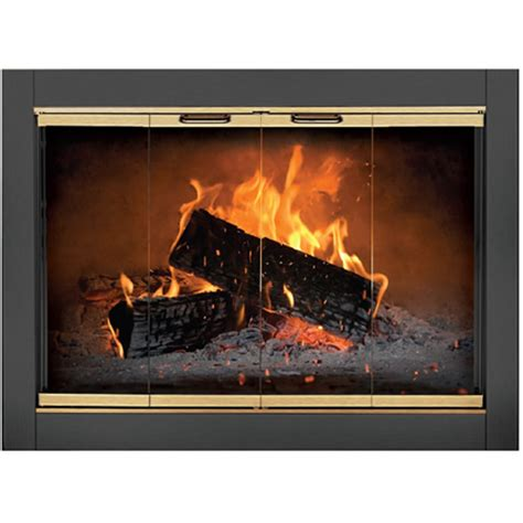 revere fireplace glass door woodlanddirect