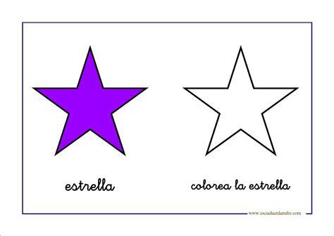 figuras geometricas bonitas estrella escuela en la nube recursos para infantil y