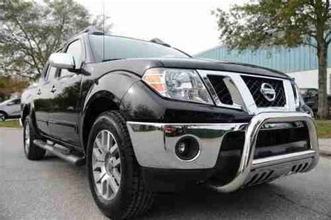 used nissan frontier seats find used 2011 nissan frontier sl 4 0l v6 crew cab leather