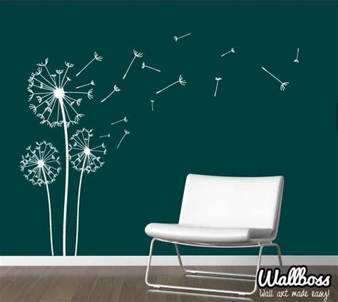 dandelion wall sticker dandelion wall stickers by wallboss wallboss wall