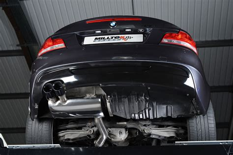 performance exhaust for bmw milltek performance exhaust for bmw 135i