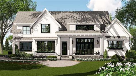 Modern Farmhouse House Plans by 1886sq Ft Modern Farmhouse Plan Rich With Features