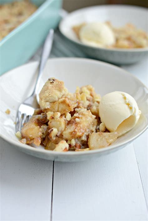 simply scratch easy apple pear crumble simply scratch