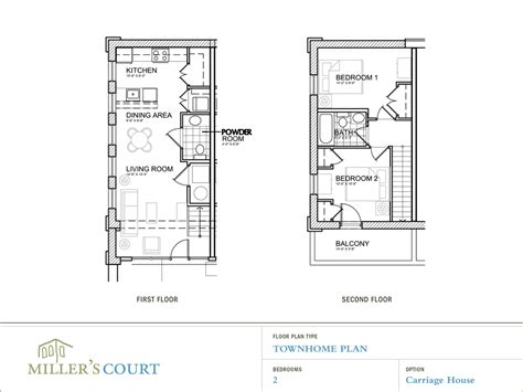 2 Story Apartment Floor Plans | floor plans
