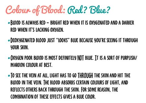 what gives blood its color blood