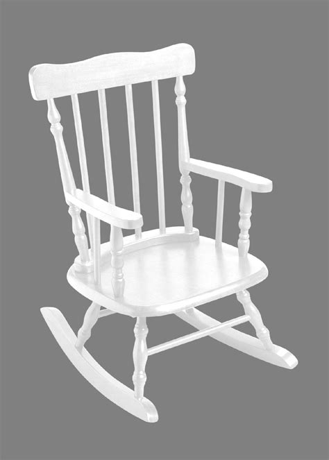 sears rocking chair giftmark 3700w child s rocking chair white sears