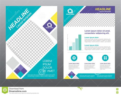page design template free layout flyer template size a4 cover page square