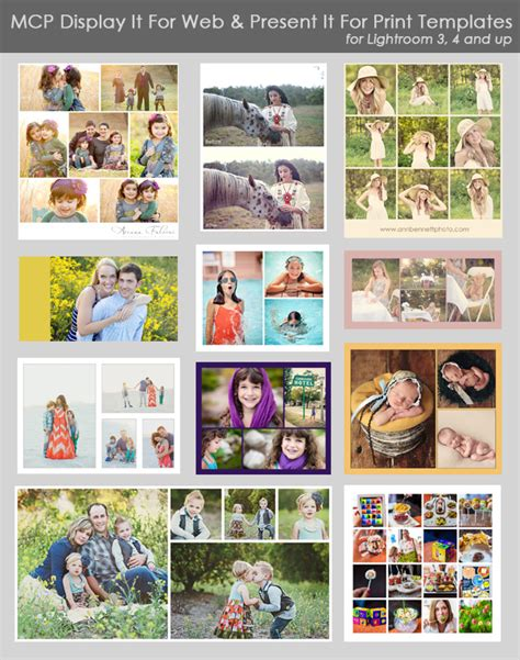lightroom collage templates lightroom templates and collages lightroom presets make