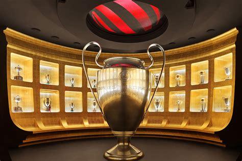 casa milan musei calcio real e bar 231 a leader l esperienza