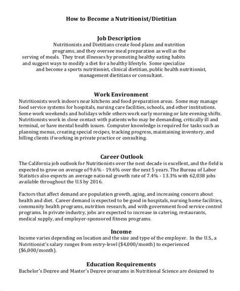 Nutritional Consultant Cover Letter by Dietitian Description Top 8 Consultant Dietitian Resume Sles Dietitian Consultant Sle