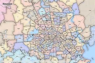 Houston Zip Code Map Pdf by Houston Texas Printable U S Zip Code Boundary Maps