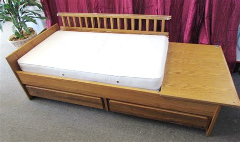 convertible crib with drawers lot detail attractive oak convertible crib youth bed