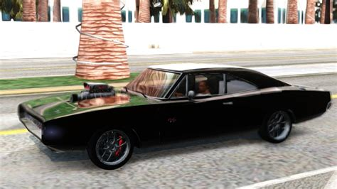 dominic challenger gta san andreas dodge charger rt dominic toretto fnf 7