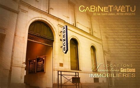Cabinet Tapissier Angers by Cabinet Daniel V 234 Tu Agence Immobili 232 Re 32 Rue