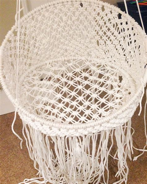 Macrame Net - diy hanging macram 233 chair