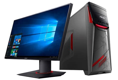 Asus Reveals The Rog G11 Gaming Desktop Gaming Desk Top