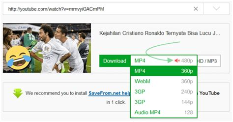 format video hd untuk youtube cara download video langgsung dari youtube tanpa ribet