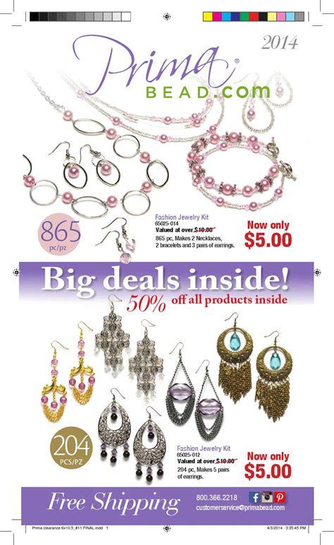 bead catalog may 2014 clearance catalog by prima bead issuu