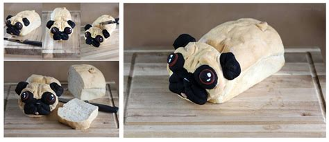 pug loaf the pug loaf is the greatest thing since sliced bread foodiggity
