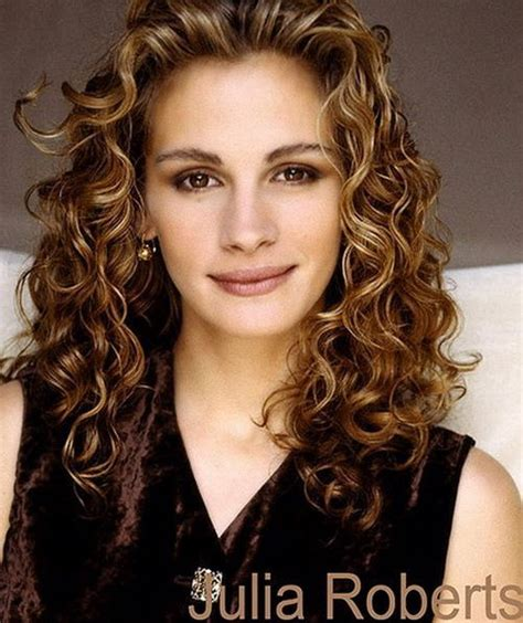 hairstyles julia roberts natural curly hairstyles julia roberts 02捲度設計 中捲 pinterest