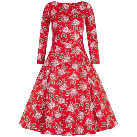 swing dress floral collectif vintage delphine mulled floral swing dress