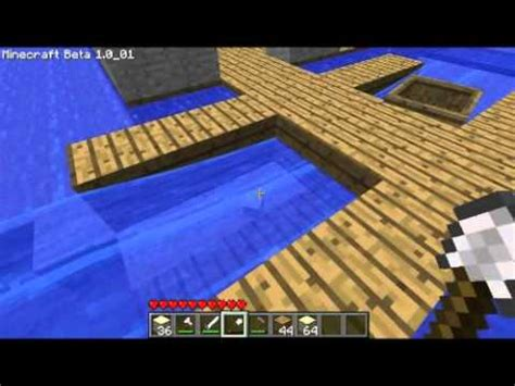 minecraft automatic boat dock minecraft boat dock tutorial youtube