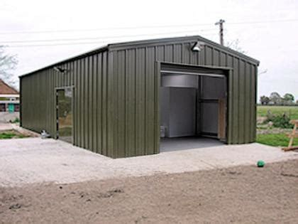 dairy farm building  insulated steel walls