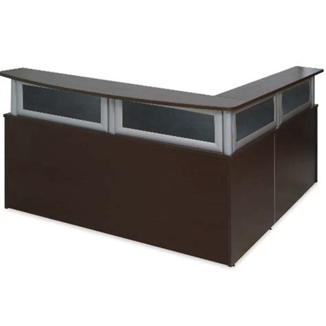 Ca238r Deluxe Series L Shape Reception Desk Candex L Shaped Reception Desk