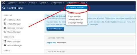 joomla tutorial login module how to install joomla module joomla tutorials news