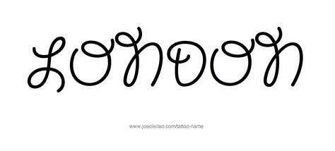 london tattoo design name designs