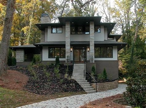 Home Exterior Design Atlanta Modern Prairie Homes Atlanta Contemporary Exterior