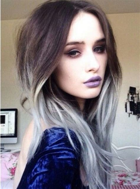 gray hair color inspiration pictures strayhair