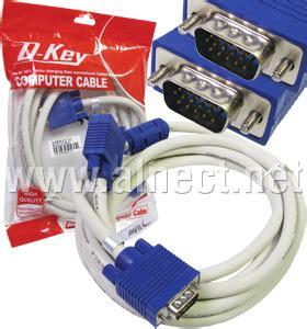 Jual Kabel Vga Netline jual kabel vga d sub netline 3m kabel vga