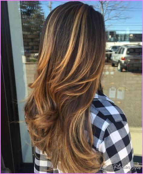 idears for brown hair with blond highlights chocolate brown hair color with red highlights natural
