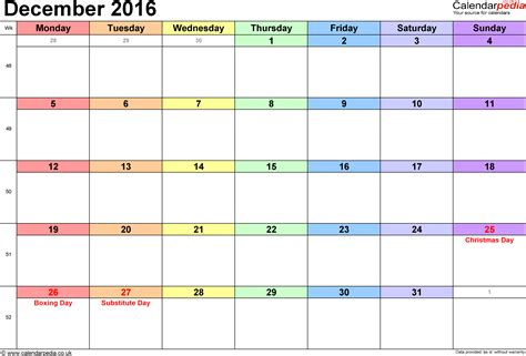 December 2016 Calendar With Holidays December 2016 Calendar With Holidays South Africa