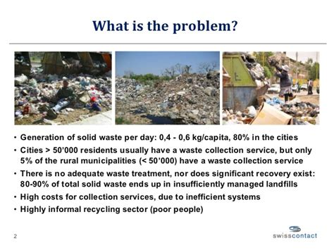 what is the problem waste management solutions bolivia