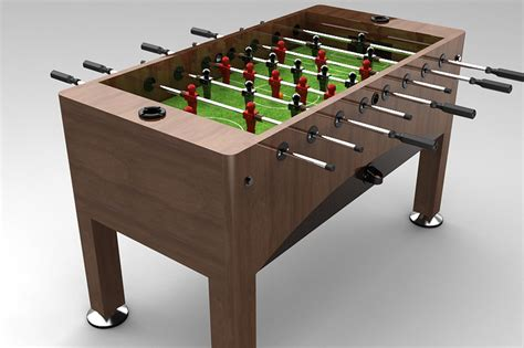 Table Soccer by Football Soccer Table Foosball Stl And Cad