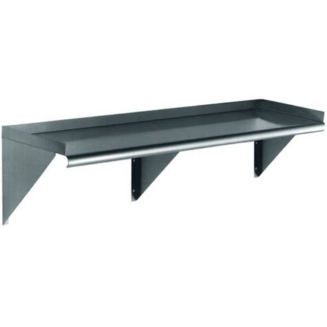 Stainless Wall Shelf stainless steel wall shelf marketlab inc