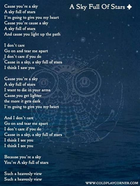 download mp3 coldplay sky full of stars free a sky full of stars coldplay pinterest