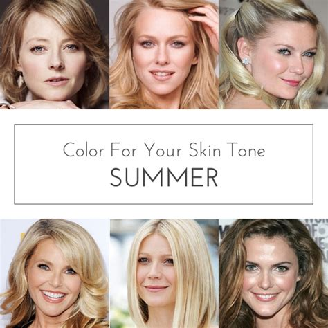 which hair color best suits a woman of 58 color for your skin tone summer 30 day sweater30 day