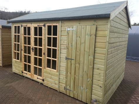 House Shed Combo by Shed King Liverpool Sheds Timber Buildings Garden