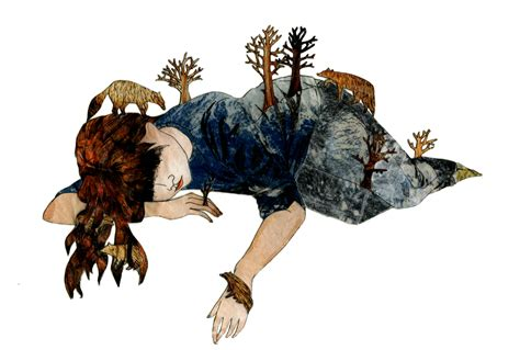 picture illustration claribelmcvennon illustration collage and poetry