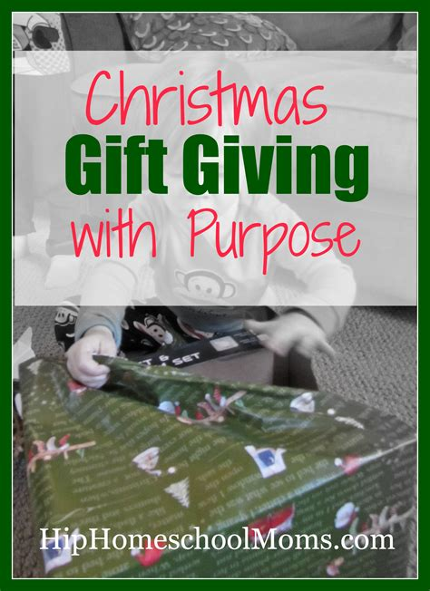 christmas gift giving with purpose hip homeschool moms