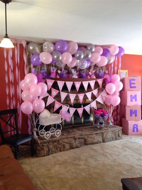 Baby Shower Pink by Pink And Purple Baby Shower Baby Shower